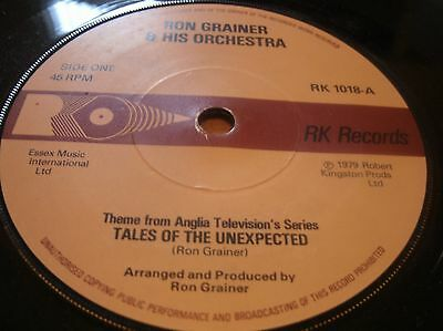 Ron Grainer & His Orchestra - Tales From The Unexpected  Rk1018 Uk 1979