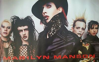 Marilyn Manson group poster (almost gone!)