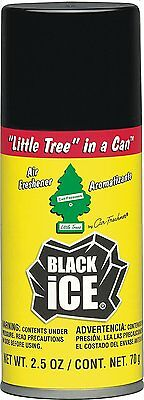 Little Trees In A Can Aerosol Sprays Black Ice