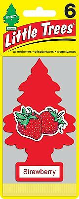 Little Trees Air Fresheners 6-Pack Strawberry