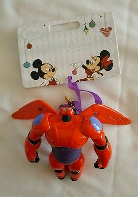 Baymax Big Hero 6 Hiro Disney store Sketchbook ornament Christmas decoration