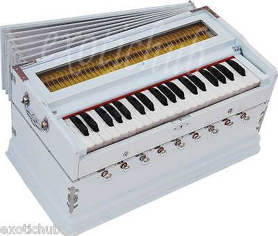 HARMONIUM~MAGIC VOICE SPL~WHITE~9 STOPS~440 Hz~YOGA~KIRTAN~BHAJAN~MEDITATION~DJ