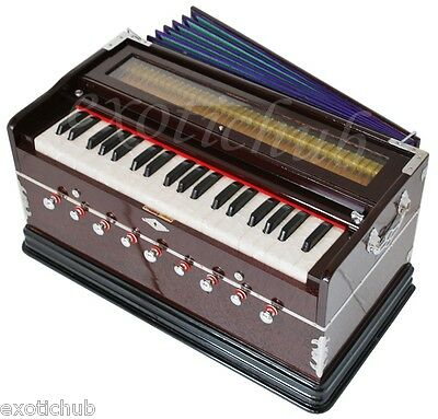 HARMONIUM~MAGIC VOICE~9 STOP~4 DRONE~SHRUTI~BASS/MALE-440Hz~PETI~BAJA~TABLA DRUM
