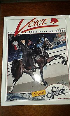 Voice of the Tennessee Walking Horse magazine August 1996
