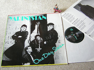 YARINISTAN One Day Soon 1988 GER LP+BOOKLET PLÄNE, TÜRKISCH-DEUTSCHER FOLK/ROCK