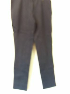 """Adult 34""""w 31""""l Navy Foxwood Outdoor Hack Sports Horse Riding Breeches  -  Uk 18"""
