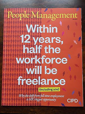 *new* People Management Hr Mag May 2017, The End Of Staff, Facebook, Inequality
