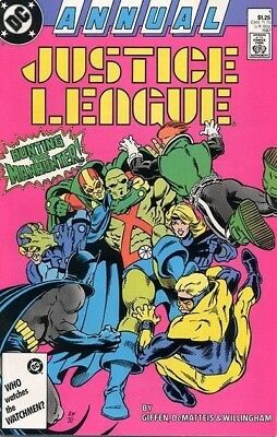 Justice League Europe / International – Lot of 3