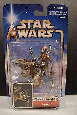 Star Wars - 2002 Saga Collection - Massiff Figure - Factory Sealed On Card!