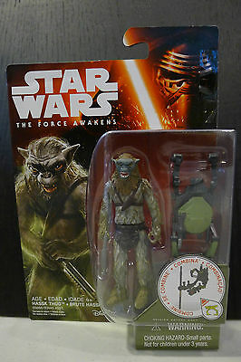 Star Wars - The Force Awakens - Hassk Thug Figure - Factory Sealed!