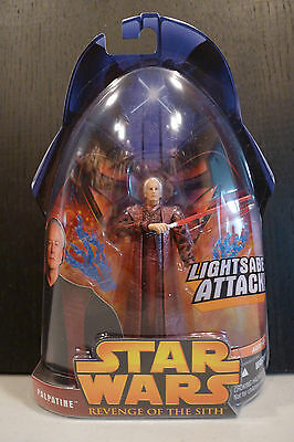 Star Wars - 2005 Revenge Of The Sith Palpatine Figure - Factory Sealed!