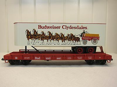 Usa Trains G Scale R-1763 Clydesdale Piggyback Car-Unused-Orig. Box & Sleeve!