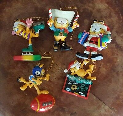 PAWS Garfield Ornaments Mixed Lot