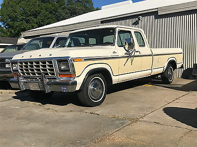 1979 Ford F-150 RANGER XLT 1979 Ford F-150 Supercab, Trailer Special