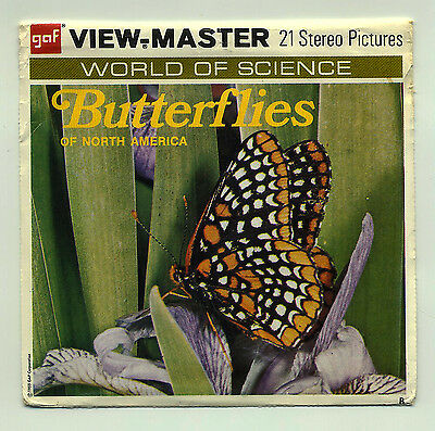 """GAF View-Master """"Butterflies of North America"""""""