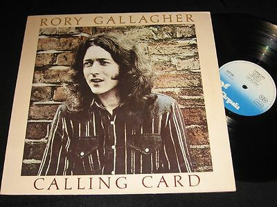 RORY GALLAGHER: Calling Card LP Chrysalis 6307586 Germany 1976