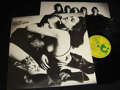 SCORPIONS: Love At First Sting Harvest 1C064-2400071 Germany OIS 1984