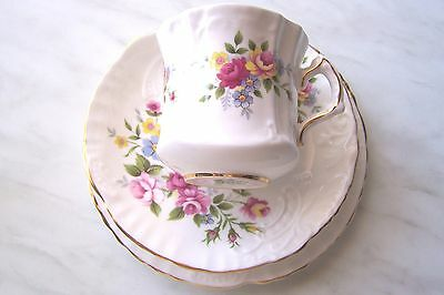 Royal Imperial Fine Bone China Trio Of Cup, Saucer And Plate