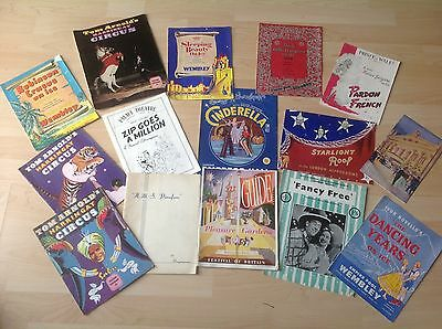 Large Selection Of 1950's Programmes Inc Festival Of Britain