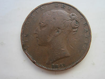 Victoria Farthing Dated 1847