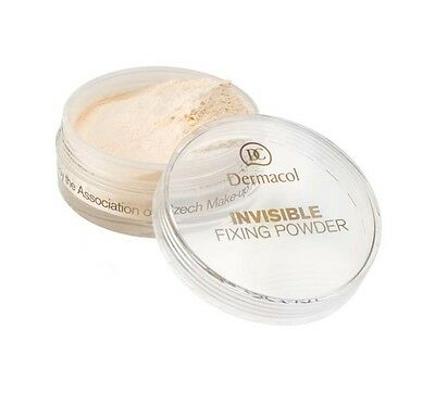 Dermacol INVISIBLE fixing powder transparent light natural semi matte velvety
