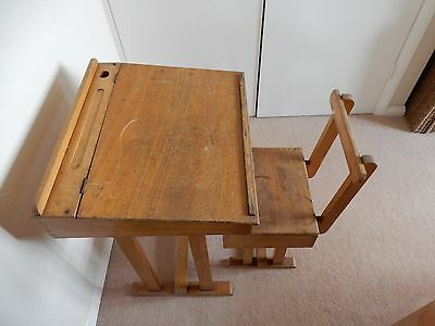 Child's Vintage Desk and Chair.