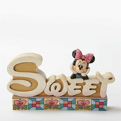 Disney Traditions Minnie Mouse Sweet Inspirational Plaque #4032897 NIB