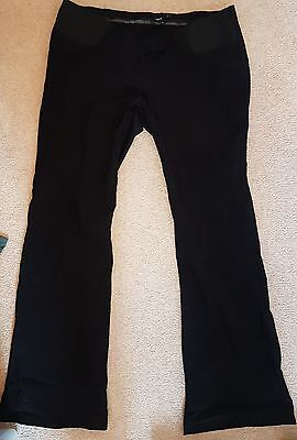 Size 18 maternity black trousers