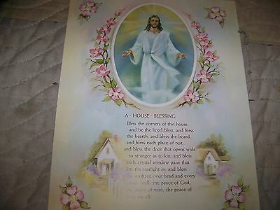The Lords Prayer House Blessing  8X10   Poster