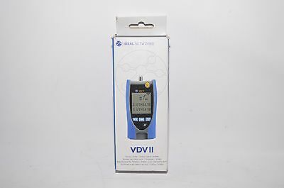 IDEAL Networks R158000 VDV II Basic NW/Phone/Coax Cable Tester NEW