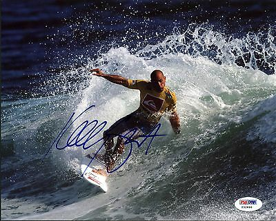 Kelly Slater Pro Surfing Authentic Signed 8X10 Photo Autographed PSA/DNA #Y32896