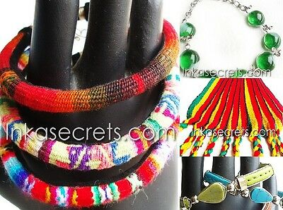 120 items, assorted lot, bracelets mixed designs Peru