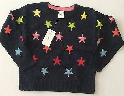 BABY GAP Toddler Girls Stars Lightweight Sweater 2 2T 2Y NEW NWT