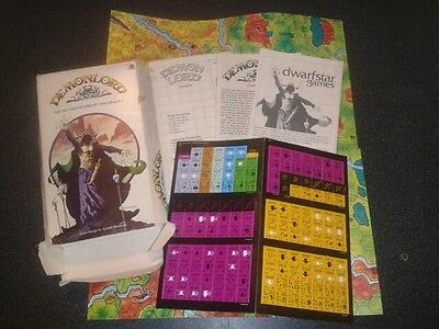 Demonlord - Dreamstar Games Vintage 1981 Sorcery Role Playing Game