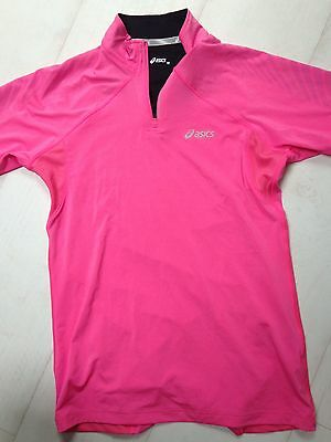 ASICS, Maillot Running Rose, Comme Neuf, Taille M (38)