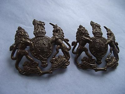 Pair of Large General Service Corps Badges WW1 or WW2
