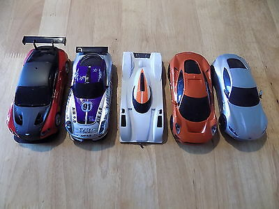 5 Scalextric Cars Spares Or Repairs Lot1