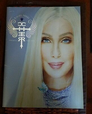 Cher 2003 Living Proof Farewell Tour Oversized Backstage Performance Photo Book