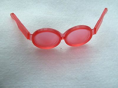 Vintage Barbie Francie Skipper Red Sunglasses From 1960's 1970's