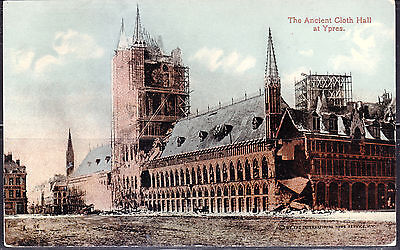 Ypres, Belgium, Ancient Cloth Hall, #56, W. C. A. 146