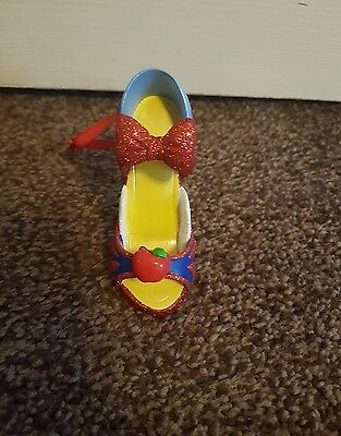 Disney Snow White      Shoe  Ornament Tree Decoration Ornament
