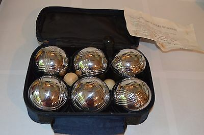 Stainless Steel Boules Set Ideal Garden Game For Summer