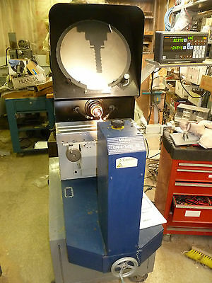 MITUTOYO PH14 LS OPTICAL COMPARATOR  with MITUTOYO KA212 DIGITAL READOUT DRO