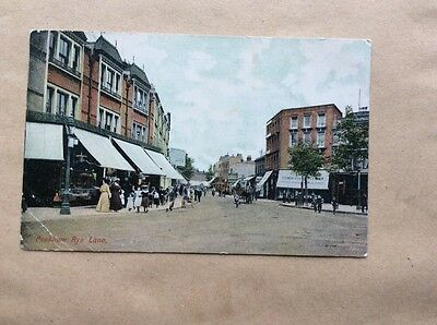 Postcard Rye Lane Peckham London Suburbs