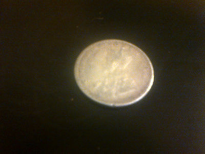 1913 silver one rupee coin