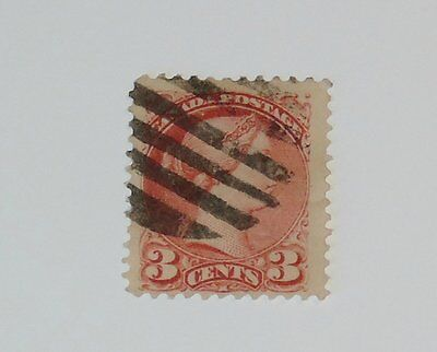 Stamp Pickers Canada 1888 Small Queen Victoria 3c Rose Scott #41a $15