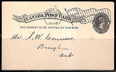 Postal History, Flag Cancel A, 1898, Hamilton, ON