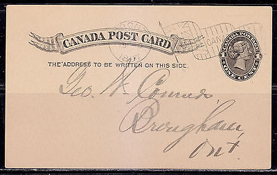 Postal History, Flag Cancel C, 1897, Toronto, ON