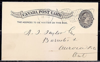 Postal History, Flag Cancel D, 1897, Toronto, ON