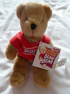 Limited Edition, 50Th Birthday Walkers Crisps Bean Bear